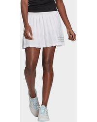 adidas Club Tennis Pleated Skirt - White