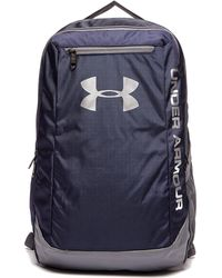 Under Armour Storm Hustle Backpack in Blue for Men - Lyst bbb7f8911f5c4