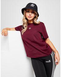 adidas Originals Essential Trefoil Boyfriend T-shirt - Red