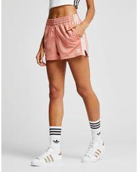 adidas Originals - 3-stripes Poly Shorts - Lyst