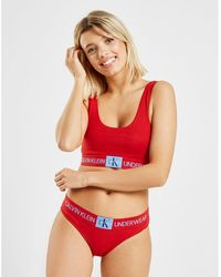 Calvin Klein Monogram Briefs - Red