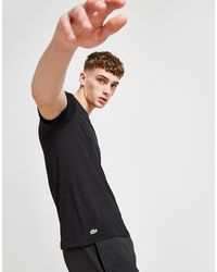 Lacoste 3 Pack T-shirts - Black