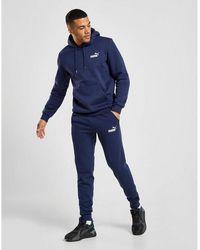 PUMA Core Fleece Sweatpants - Blue