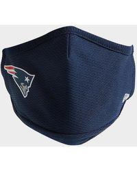 KTZ Nfl New England Patriots Face Covering - Blue