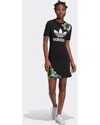 adidas Originals Tee Dress - Black