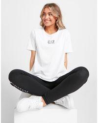 EA7 Boyfriend Logo T-shirt - White