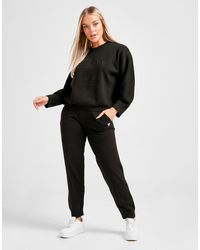 Guess Lounge Logo Sweatpants - Black