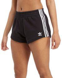adidas Originals - 3-stripes Terry Shorts - Lyst