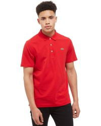 Lacoste - Alligator Short Sleeve Polo Shirt - Lyst