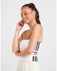 adidas Originals Lock Up Bandeau - White