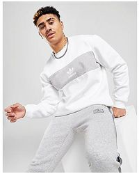 adidas Originals Sudadera Colour Block - Blanco
