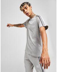 adidas Originals Tri-stripe T-shirt - Gray
