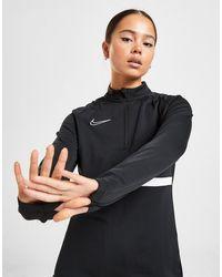 Nike Academy 1/4 Zip Top - White