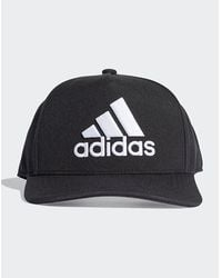 adidas Originals H90 Logo Cap - Black