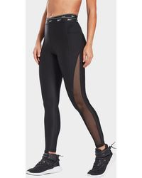 Reebok Studio Mesh leggings - Black