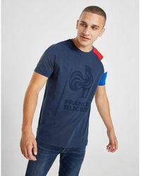 Le Coq Sportif France Fan Short Sleeve T-shirt - Blue