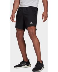 adidas Heat.rdy Running Shorts - Black