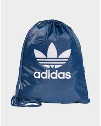 adidas Originals Trefoil Gym Sack - Blue