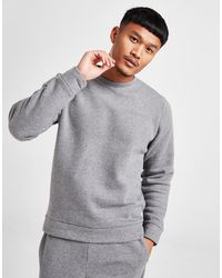 Calvin Klein Core Fleece Sweatshirt - Gray