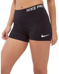 """Nike - Pro 3"""" Training Shorts - Lyst"""