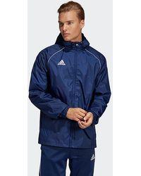 adidas Core 18 Rain Jacket - Blue
