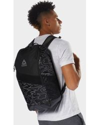 Reebok - Active Enhanced Graphic Backpack 24l - Lyst