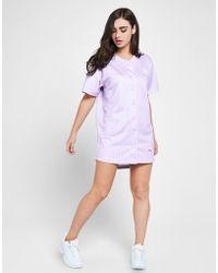 SIKSILK - Baseball Stripe Dress - Lyst