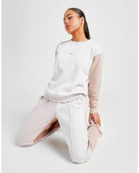 Nike Colour Block Sweatpants - Grey