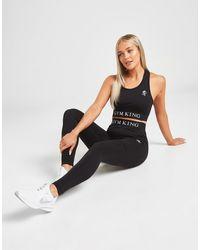 Gym King Core Seamless Tights - Black