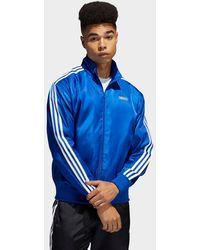 adidas Originals Satin Firebird Track Top - Blue