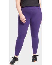Reebok Lux leggings (plus Size) - Purple