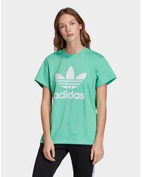 adidas Originals Boyfriend Trefoil T-shirt - Green