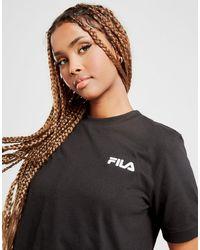 Fila Core Logo Crop T-shirt - Black