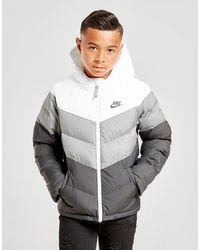 Nike Sportswear Padded Jacket Junior - Grey