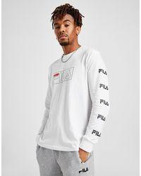 Fila Ansen Long Sleeve T-shirt - White