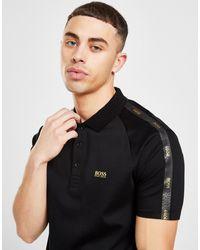 BOSS by Hugo Boss Tape Polo Shirt - Black