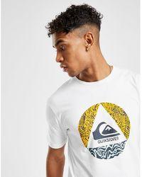 Quiksilver Print T-shirt - White