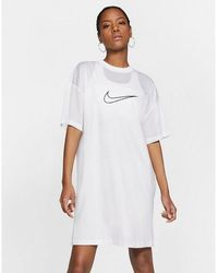 Nike Sportswear Mesh Dress - White