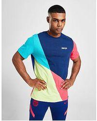Nike FC Barcelona Fußball-T-Shirt für Herren - Mehrfarbig