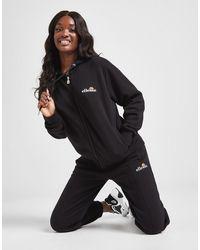 Ellesse Oversize High Waisted Sweatpants - Black