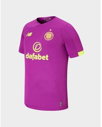 d3db798837cb2 Celtic Fc 2019/20 Goalkeeper Away Shirt - Purple