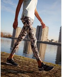 Nike Pro Hypercool Marble Leggings - Multicolour