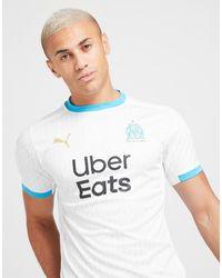 PUMA Olympique Marseille 2020/21 Home Shirt - White