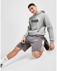 PUMA Logo Shorts - Grey