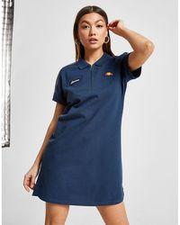 Ellesse Polo Shirt Dress - Blue
