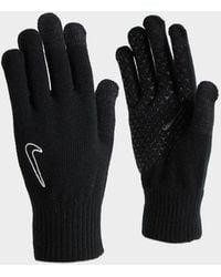 Nike Knit Gloves - Black