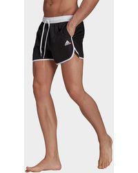 adidas Split Swim Shorts - Black