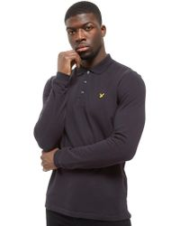 Lyle & Scott - Long Sleeve Core Polo Shirt - Lyst