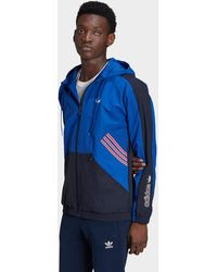 adidas Originals Sprt Archive Woven Windbreaker - Blue