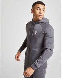 Gym King Core Plus Full Zip Hoodie - Gray